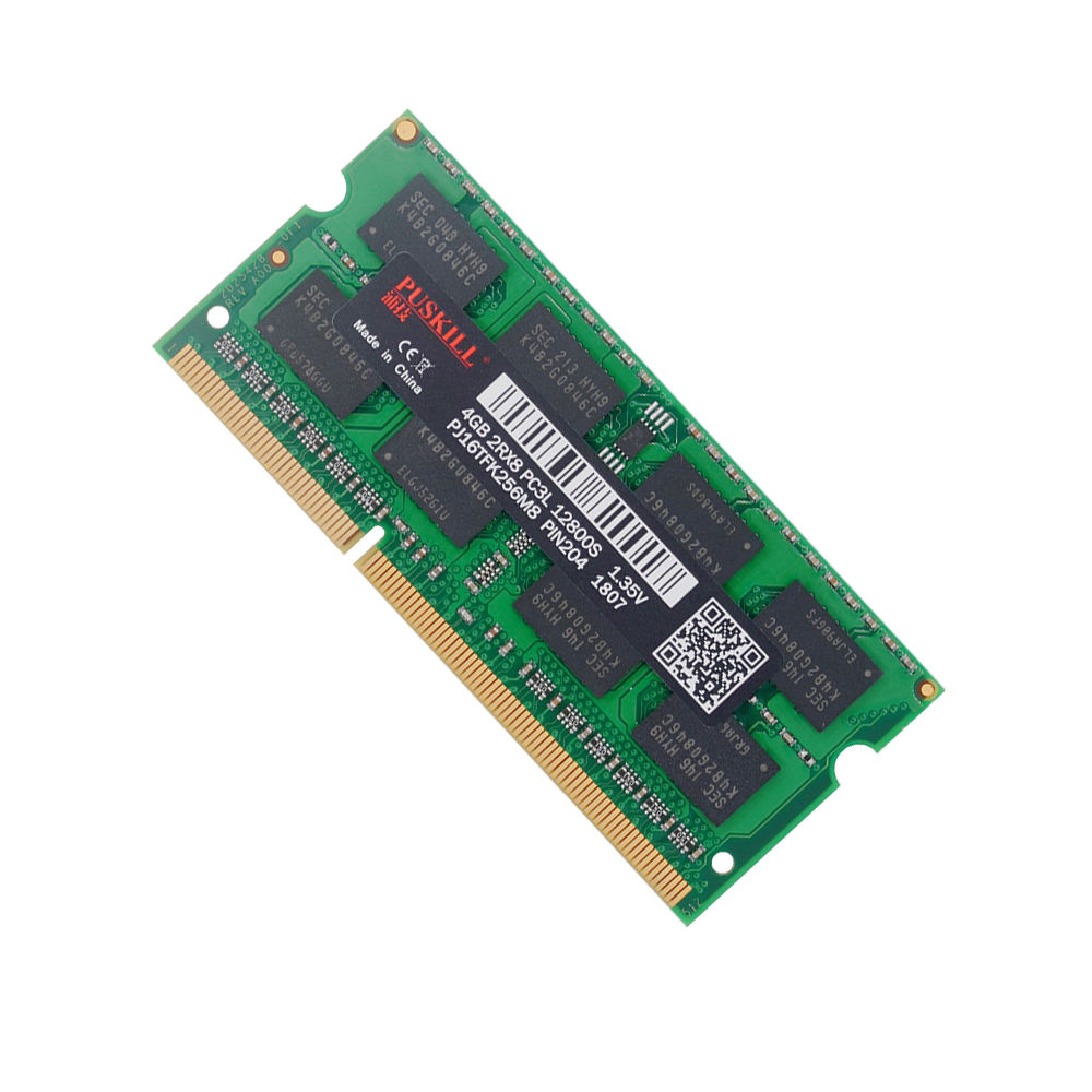 Factory wholesale SODIMM ram memory DDR3 DDR3L 4GB 1333 1600Mhz 1.35V 10600 12800 laptop RAM