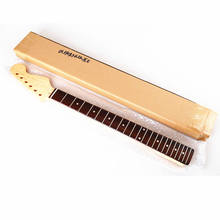 22 Fret Canadian Maple Electric Guitar Parts Electric Guitar Neck Rosewood Fingerboard Neck