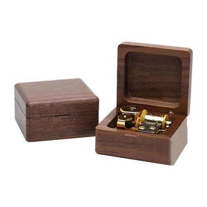 2019 Hot Sell Custom Mini Wooden Music Box