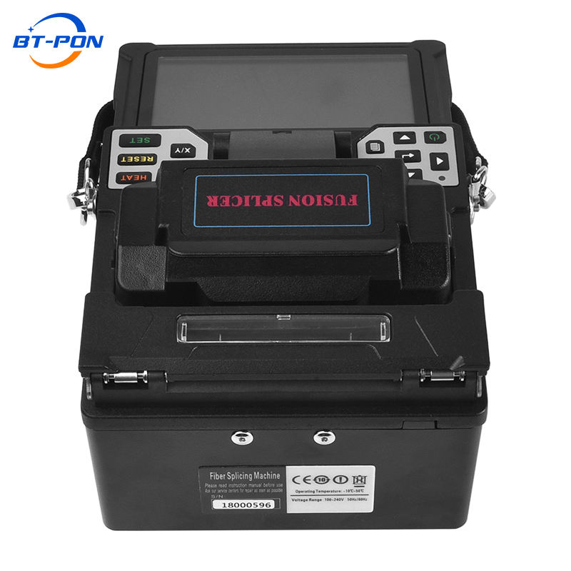 BT-PON handheld core to core splicing fusion splicer machine