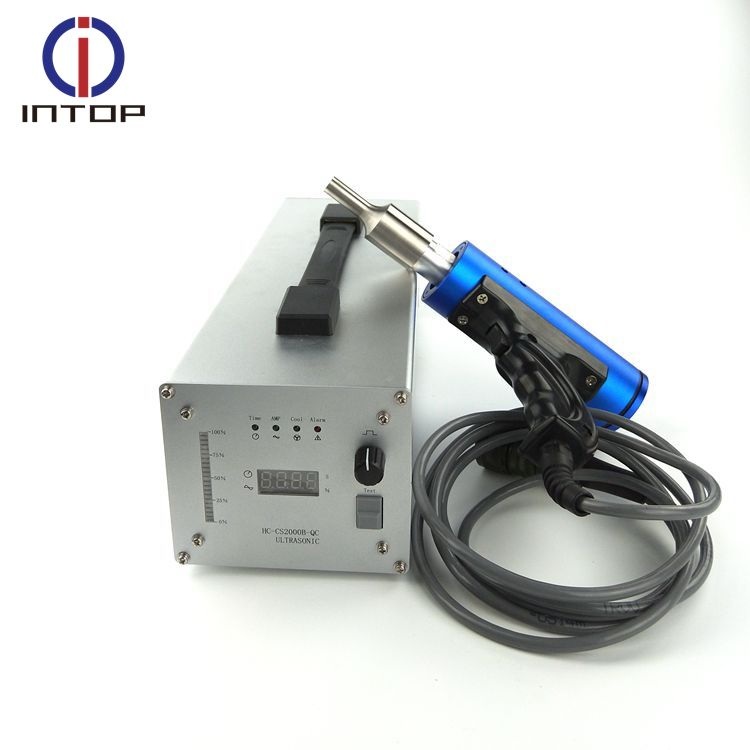Competitive price Hand Held Ultrasound Ultrasonic Spot Welding Machines For Pvc Blister Box Riviting Welder