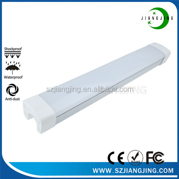 TUV CE factory direct koop IP65 tri proof led licht 1200mm 60 w waterdichte led lamp