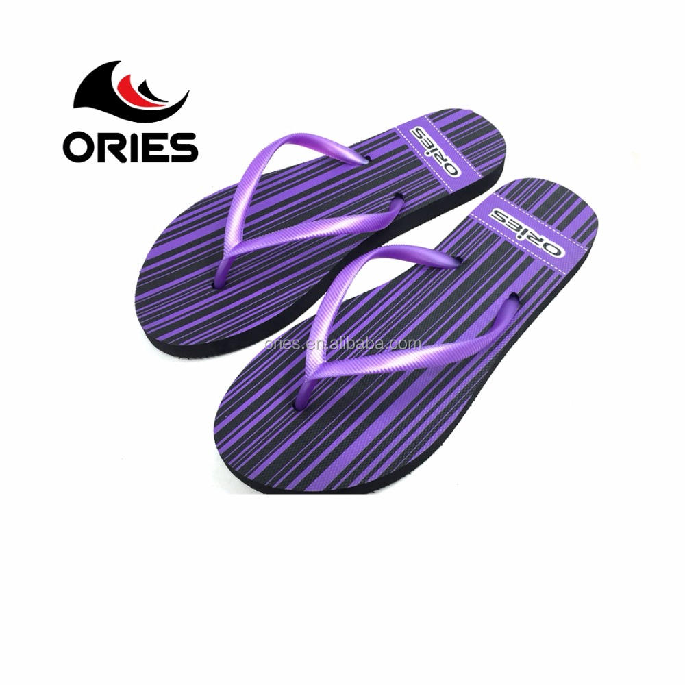 New Products Swimming Cheap Purple Sole Flip Flops Chinelo