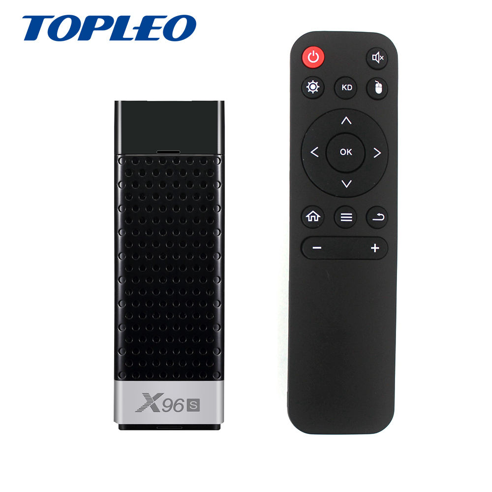 Top Kwaliteit X96S S905Y2 quad-core ram LPDDR4 2/4 gb BT4.2 smart tv mirascreen wifi display dongle android 8.1