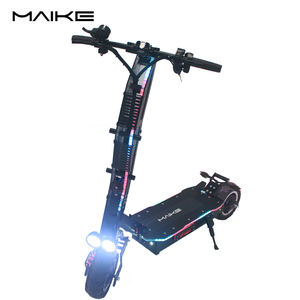 Maike SGT 11 inch 5000 dual moter 60V 42AH Electric Foldable scooter front C shock air suspension