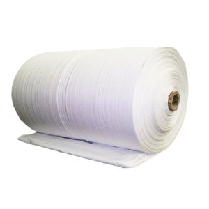 EGP 100% new material tubular polypropylene fabric pp woven roll