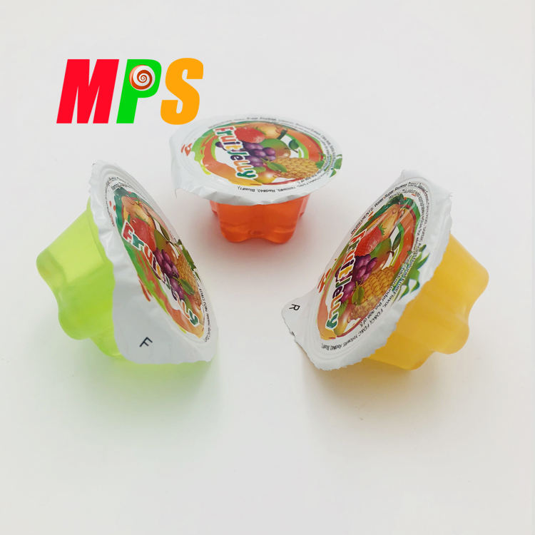 Hot sale Cheese Flavor Mini Cup Fruit Jelly