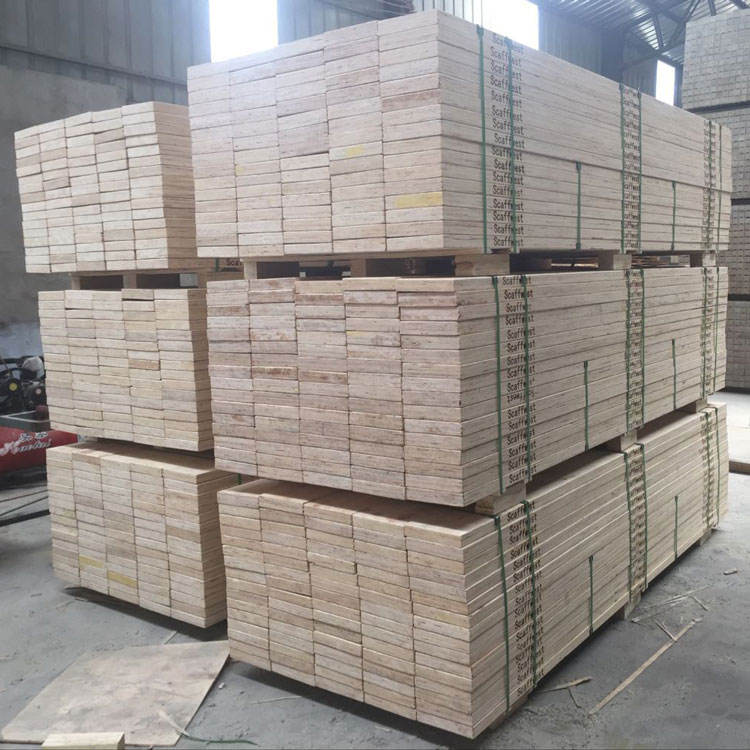 linyi ming sen 2019 Beam Pine Lumber lvl Scaffold Plank Vietnam 1220x2440mm plywood scaffolding pine wood plank for construction