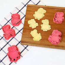 Pigge pig Cookie Mold bake tool through DIY cookie cake