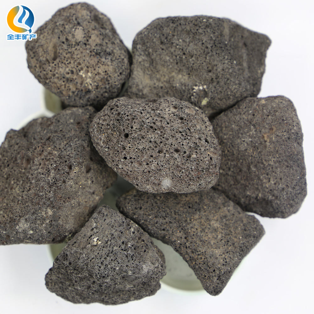 Natural high quality red lava rock volcanic stone for grill