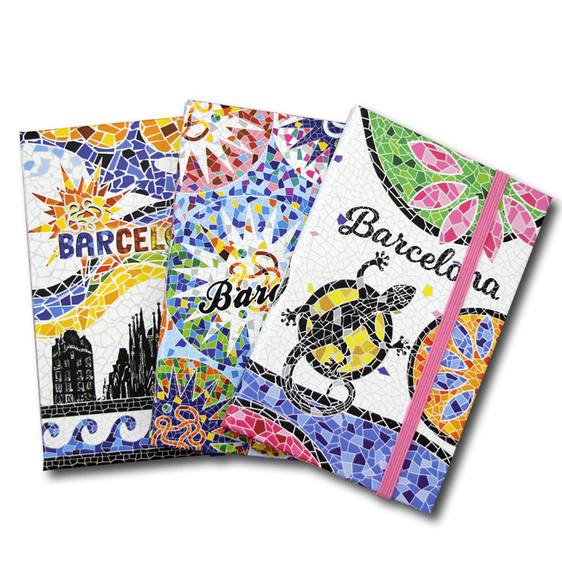 Wholesale Souvenir Paper New York Diary Journal Cmyk Color Printing Hard A5 Plastic Cover Spiral Notebook