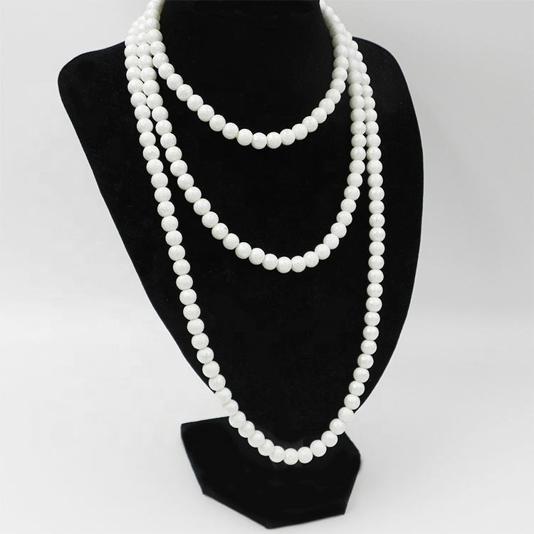 Excellent quality 인공 면 pearl necklace 대 한 women