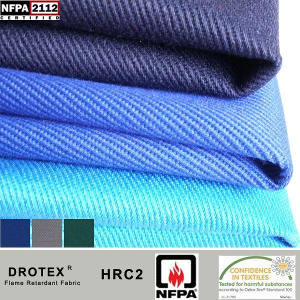 88%cotton 12%nylon FR Fabric Protection for Electric Arc Flash