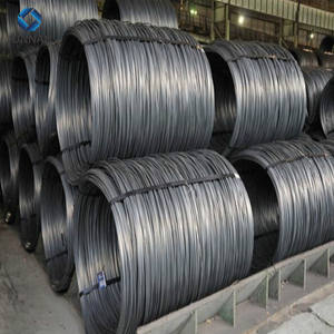 Competitive Price Low Carbon Ms Steel Wire Rod SAE1008 5.5, 6.5, 7, 8, 9, 10, 11, 12, 14mm #9 wire
