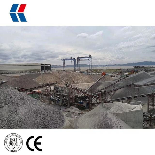 Complete Screening and Crushing Plant, Stationary Crushing Plant