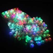 round shape LED balloon led mini lights for festival,LED balloon light