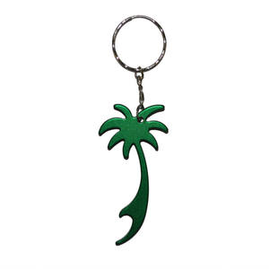 Palm Tree Keyring Bottle Opener Metal Keychain