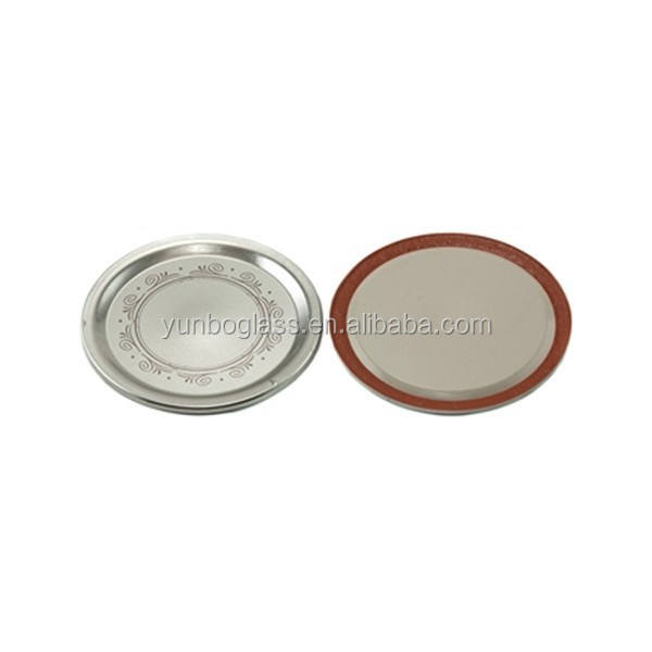 86mm Brushed Silver Lid- Bulk