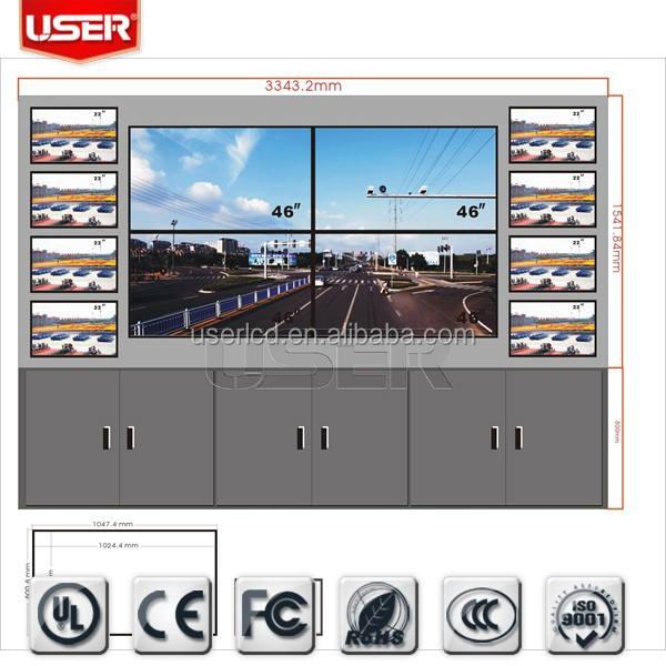 42 дюймов 4 К lcd-видеостена со светодиодной подсветкой UHD разрешение 3840x2160