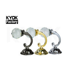 KYOK superior quality curtain walls accessories shower curtain hooks ,luxurious curtain tiebacks hook