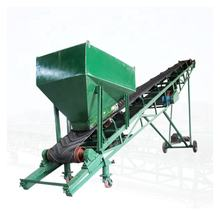 China Supply Feeding Rubber Belt Conveyor with Hopper
