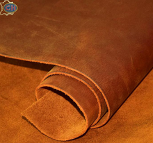 Many colors in stock Brown crazy horse leather with very good price can cut it if you need