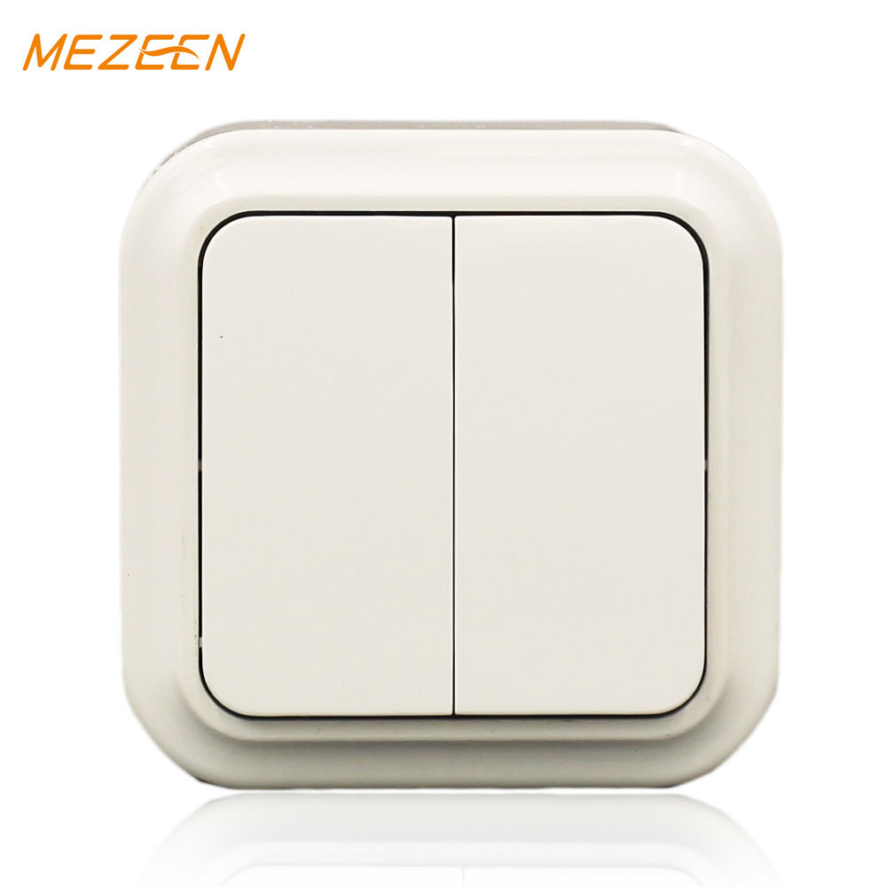Factory price 10a european style wall switch brass metal switch and socket