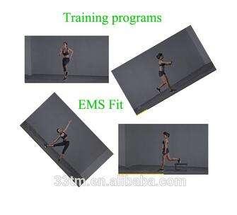 Электростимуляции тренажер с ems фитнес-тренировки куртка