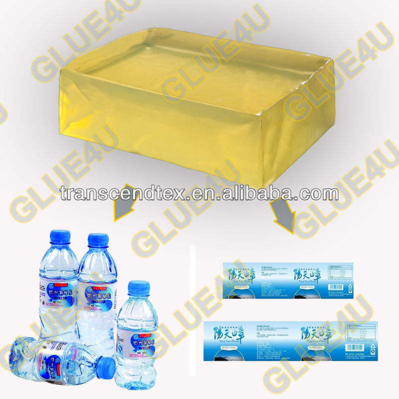 manufacturer hot melt adhesive glue for PET bottle label