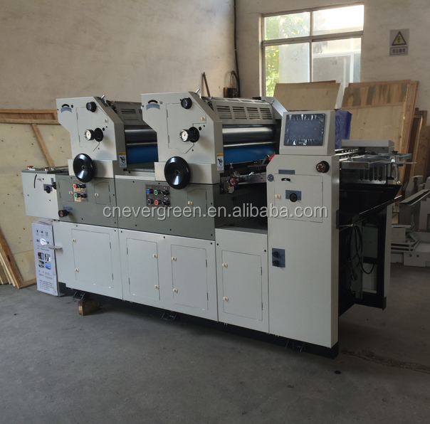 two color offset printer 2 color offset printing machine