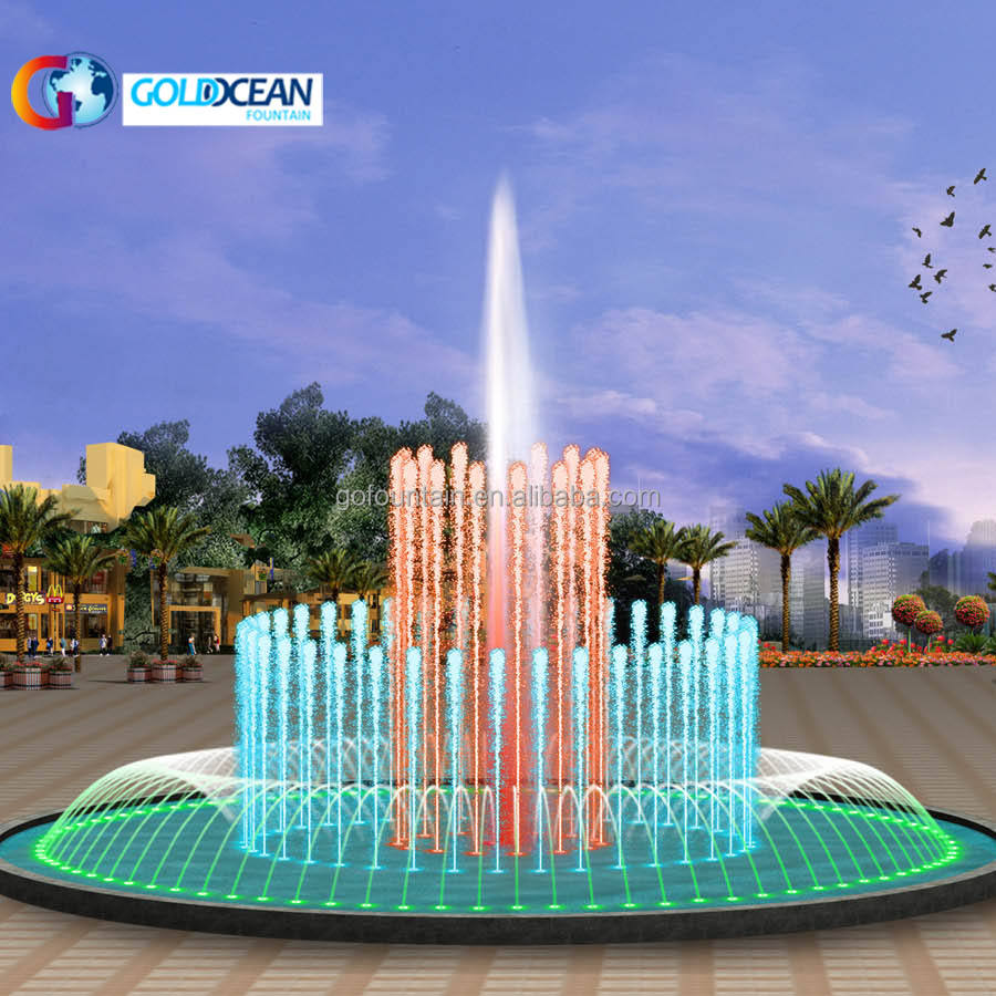FREE DESIGN Low Cost Non-music Water fountain Design for Water Pool