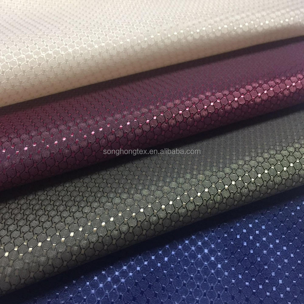 China Manufacturer Newest jacquard lining fabric use for suits and ties
