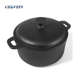 Hot sale cast iron biryani cooking pot with lid