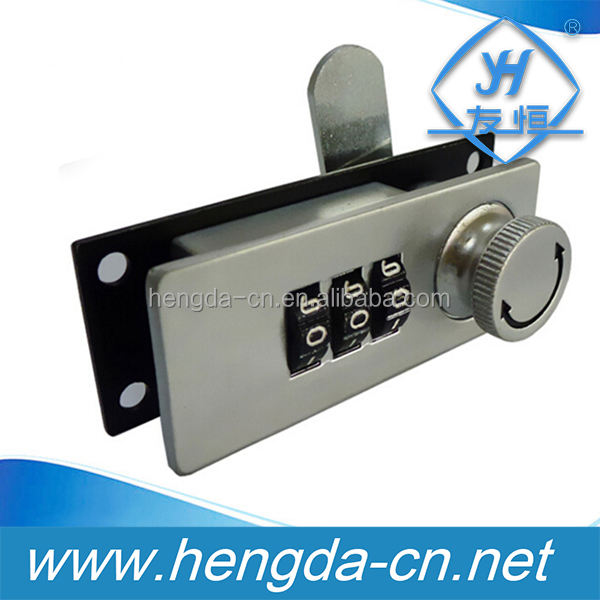 YH1217 Zinc Alloy Revolving Cylinder Mechanical Cabinet Lock