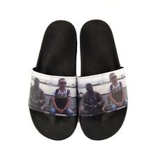 Custom Sandal Slides House Indoor Slippers,Slides Mens Printed Slippers,Screen Printing Slipper  Printer Men Slide Sandals