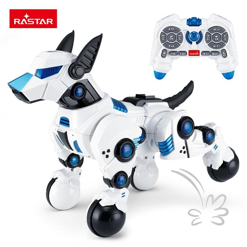 RASTAR factory sale hobby toys best selling rc robots functional robot dog