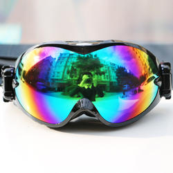 Double ski goggles adult female men goggles mountaineering fog outdoor