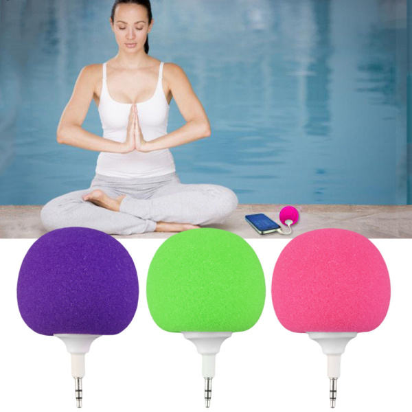 2020 super hot selling 3.5mm Portable Music Sponge Ball Speaker For Mobile Cell Phones Tablet PC for amazon seller