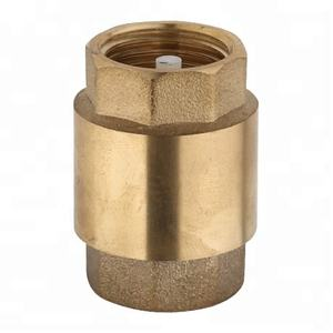 1/2 BSP or NPT excellent quality china supplier brass spring check valve
