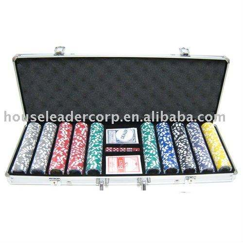chip poker set 500