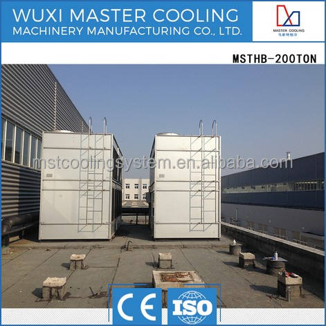 HOT SALE MSTHB-200 Ton Cross Flow industrial refrigeration closed circuit Cooling Tower