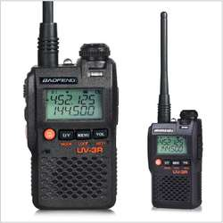 Baofeng Mini walkie talkie UV-3R Long Range Dual Band UHF VHF Handy Two Way Radio with Lcd display Walkie Talkie