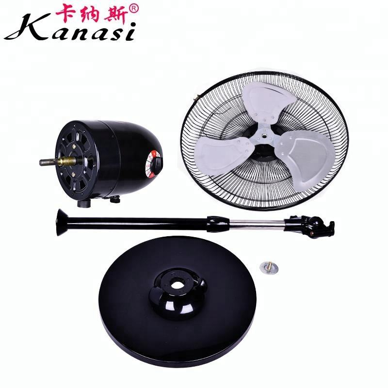 "Metal Stand Fan Kanasi 18 "" Inch 220 V AC High Speeds Silent Metal Cooling Stand Fan With Aluminum Fan Blade For Home Kipas Angin"