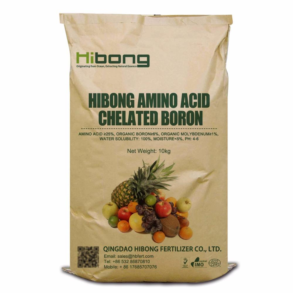 Amino Acid Chelated Boron Micronutrient Fertilizer