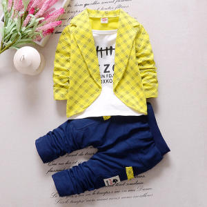 Hao Baby Tracksuit Autumn Children Boys Clothing Sets Children Boys Fashion Brand Clothes Kids 2 Pcs Suits