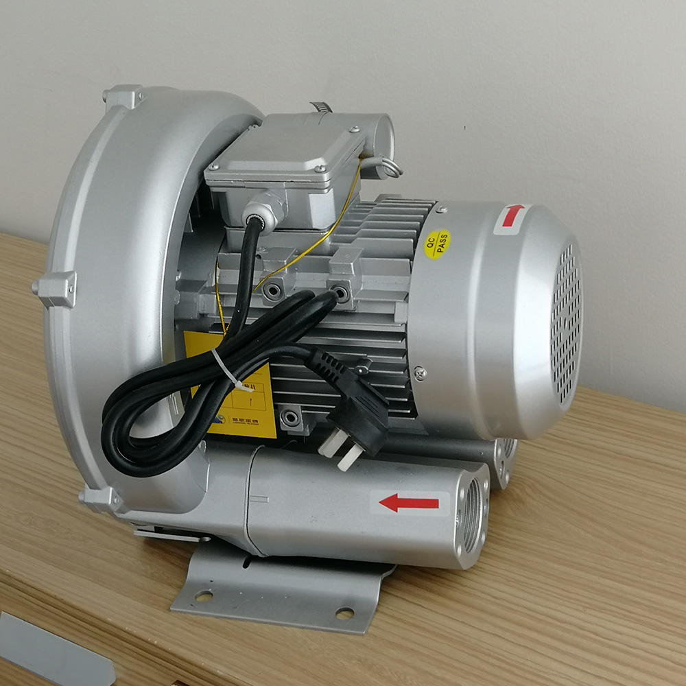 0.75kw High Pressure Lateral Channel Blower for Textile