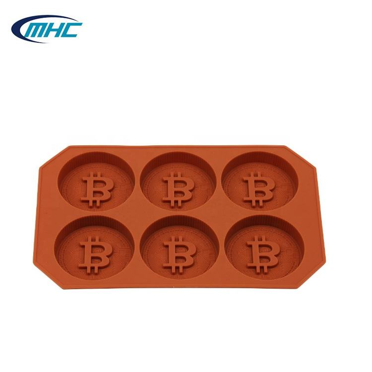 New Design Coin Shaped Chocolate Mold Silicone Chocolate Mold