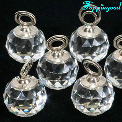 Wholesale Small Transparent Ball Vase Crystal For Advertising Gift