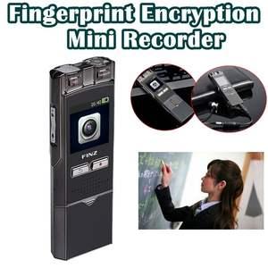 720P HD Record Fingerprint Encryption Recorder Voice & Video Recording Camera