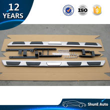 Aluminum Alloy +Stainless Steel OE Style Side Step For Audi Q3 Q5 Q7 Running Board Separate bracket Auto accessories